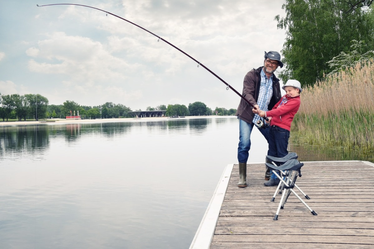 fishing adventure at the Allersee lake (photo: Jenko Sternberg Design)